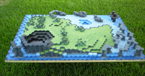 Topographic Map Games.Hot Wire Foam Factory Topographic Map